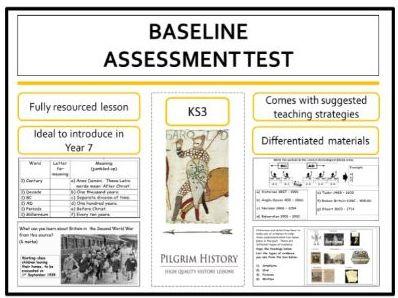 Baseline History Assessment Test