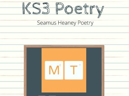 KS3 Introduction to Seamus Heaney Poetry