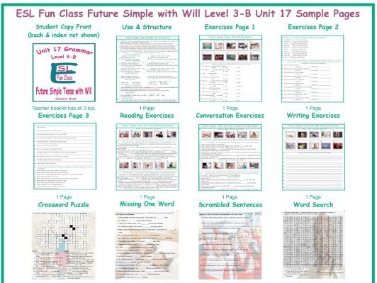 Future Simple with Will Level 3-B Unit 17