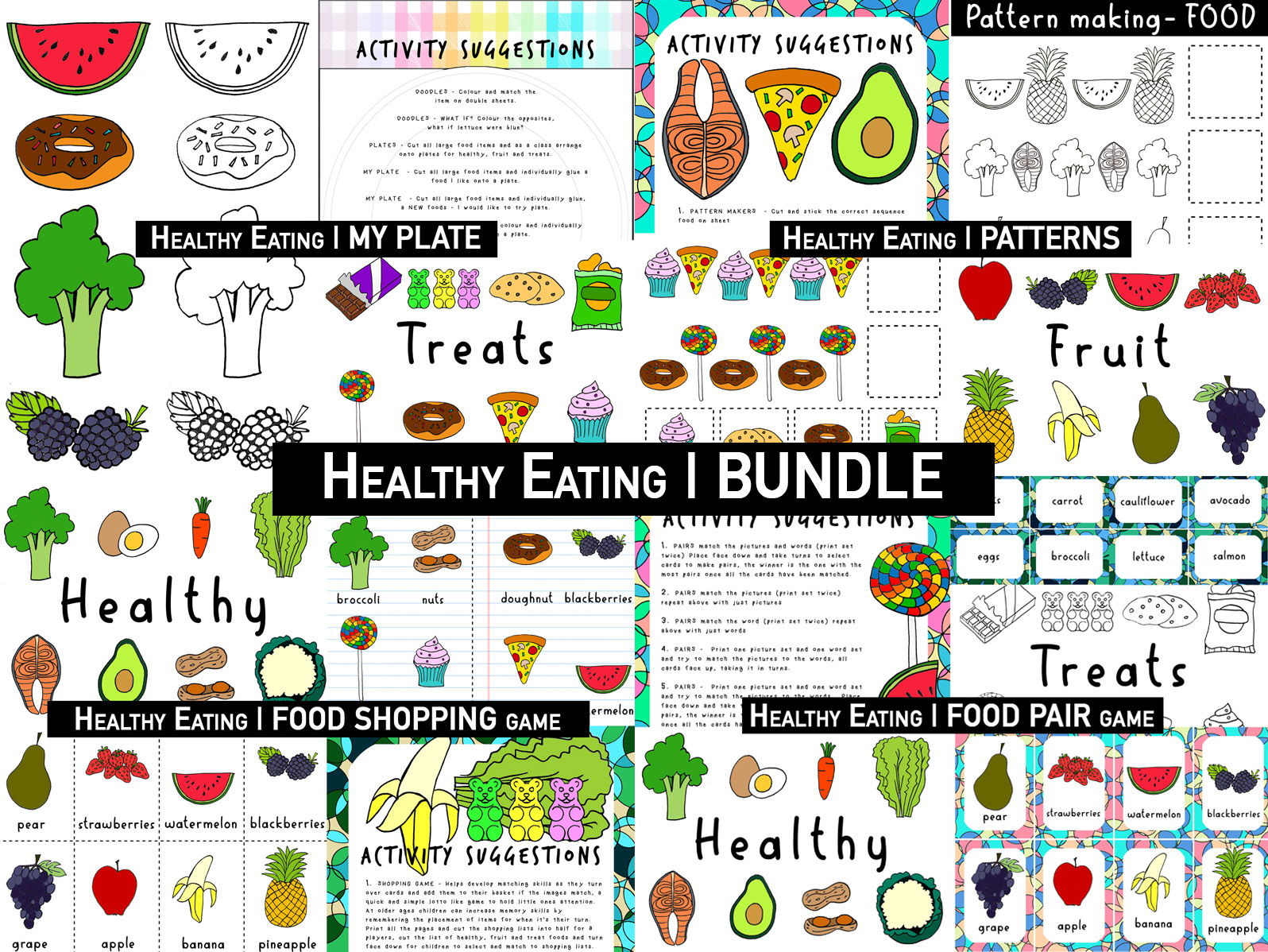 Healthy Eating | EARLY YEARS FOOD | Full bundle