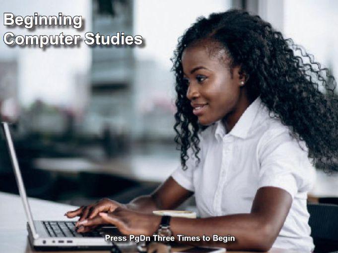Beginning Computer Studies