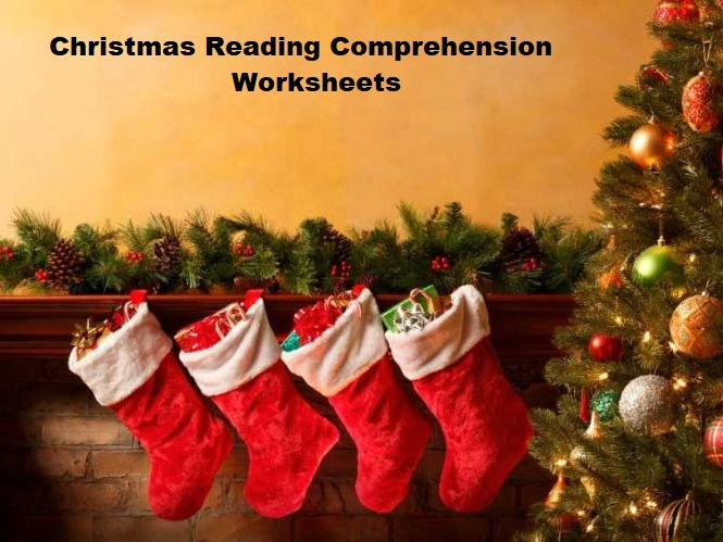 Christmas Reading Comprehension Worksheets - ESL Intermediate to Advanced