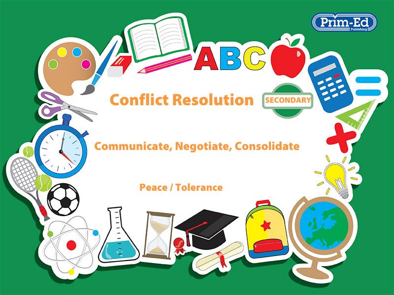 CONFLICT RESOLUTION - PEACE/TOLERANCE: SECONDARY UNIT