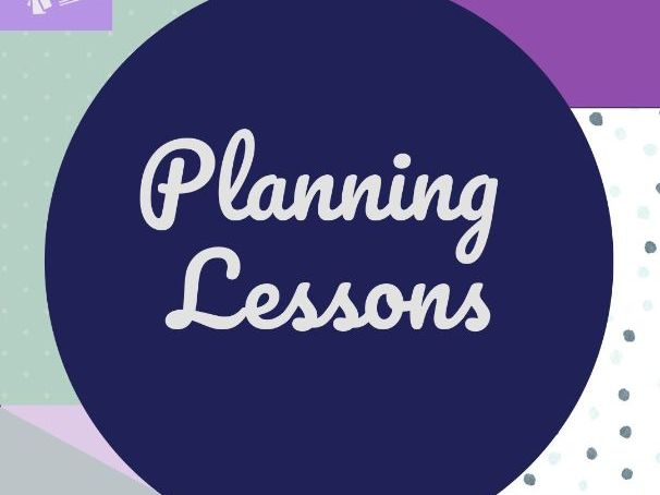 TS4 Planning Lessons CPD Resources