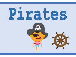 Pirates Classroom Banner