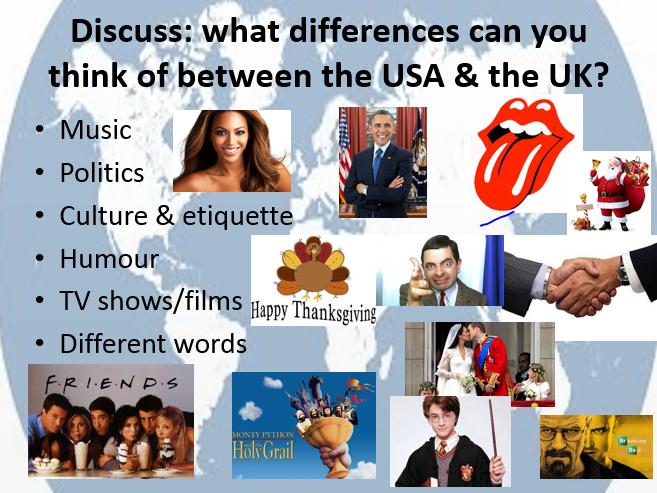 USA v UK