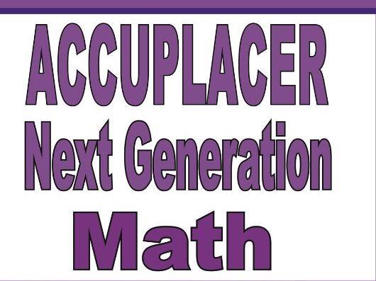 ACCUPLACER Next Generation Math Prep 2020: A Comprehensive ...