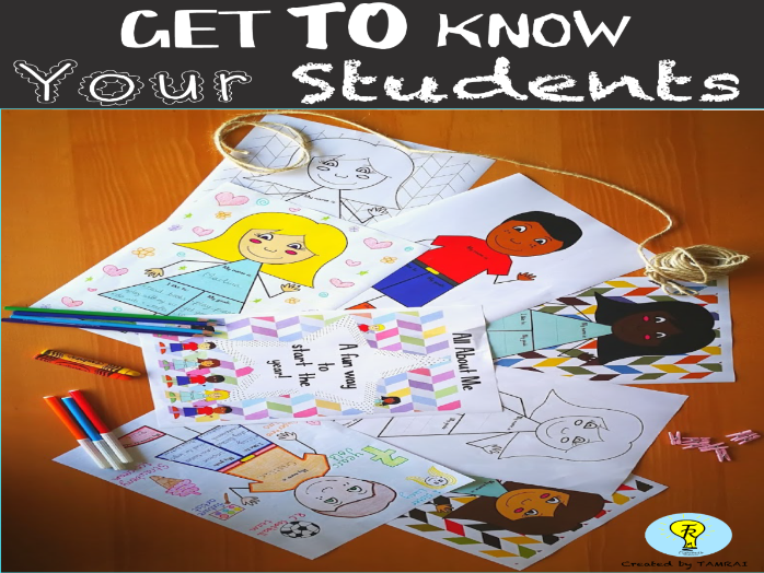 BACK TO SCHOOL INTRODUCTION- GET  TO KNOW  YOUR STUDENTS