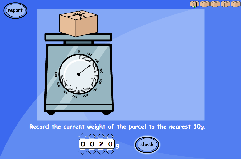 Reading Weight, Length and Height - Interactive Activity - KS2 Measurement