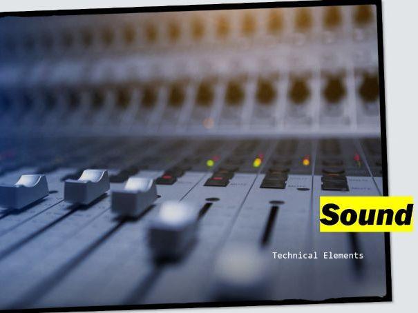 Sound: A Level Media Studies (Technical Elements)