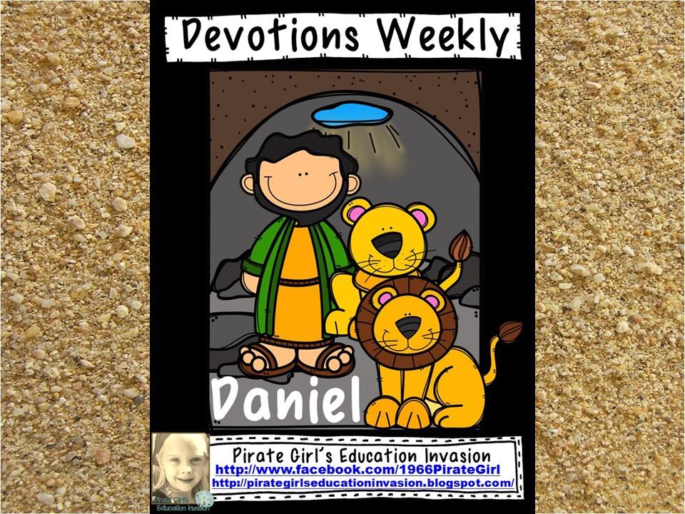 Devotions Weekly: Daniel in the Den of Lions