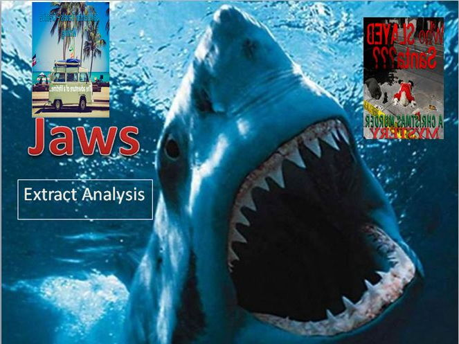 Jaws + Campervan Travels + Who Slayed Santa