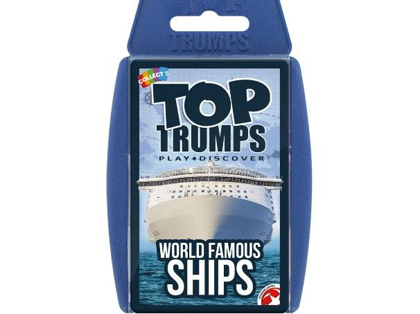 Ships Official Top Trumps - Full Deck