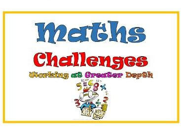 Maths Challenges for Working at Greater Depth in Key Stage One - KS1, Year 2/Two, Activities , WAGD