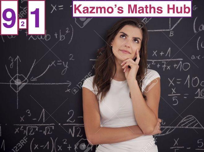 9-1 GCSE  Math Exam Paper