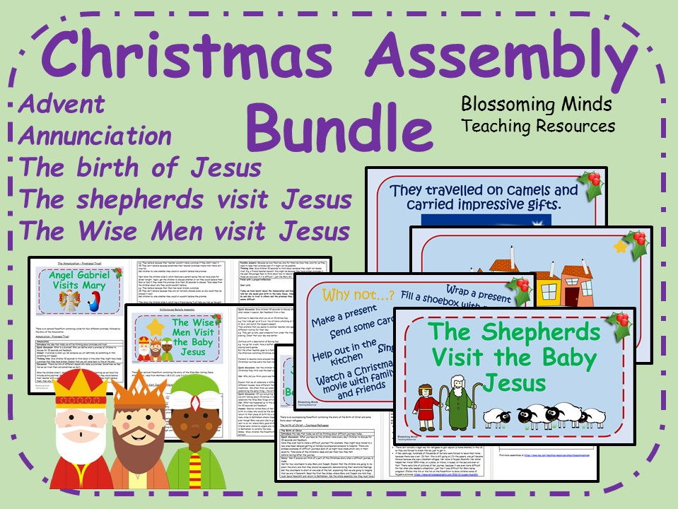 Christmas Assembly Bundle