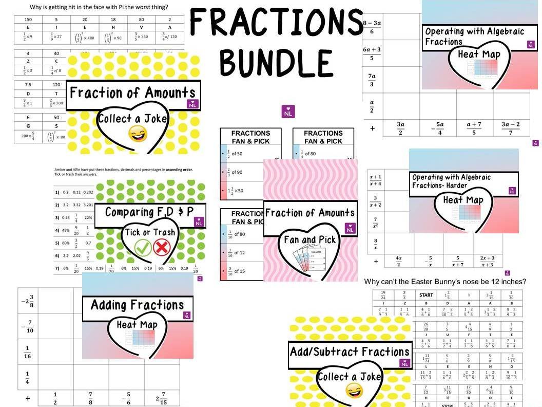 Fractions Maths Resources