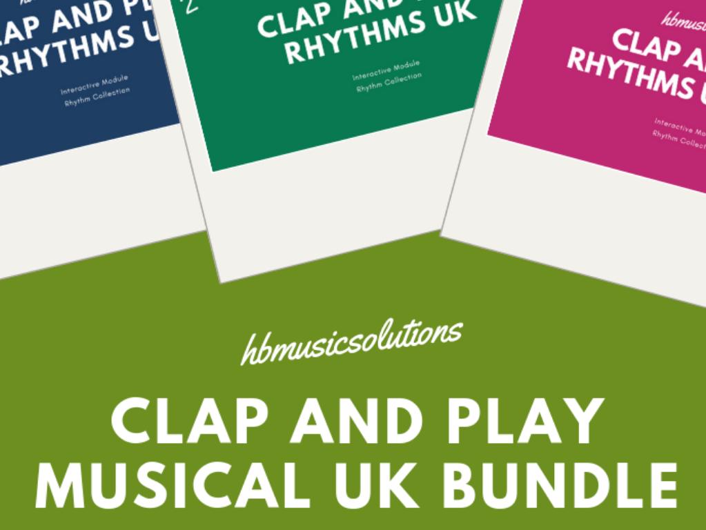 Clap And Play Rhythms Levels 1-3 Bundle