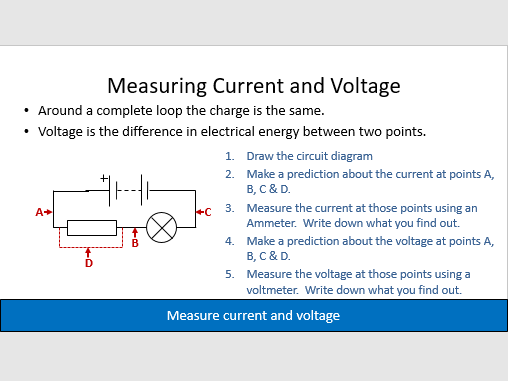 Voltage and Potential Difference - Lesson 5, Electricity, AQA Physic GCSE