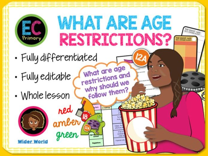 Age restrictions in media PSHE