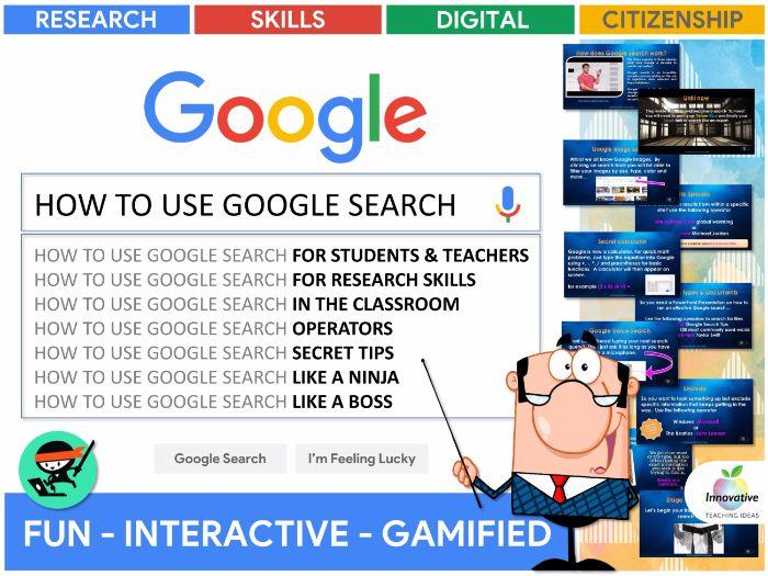 Google Search Like a Boss