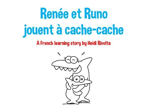 French storytime - Renée and Runo play hide and seek