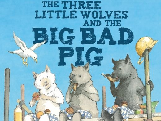 The Three Little Wolves and the Big Bad Pig Eugene Trivizas Full Reading Comprehension