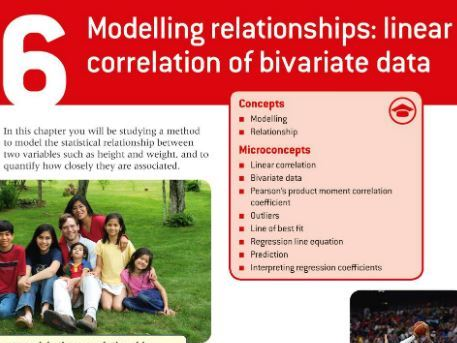 IB Maths Applications and Interpretation SL: Chapter 6 - Modelling Relationships