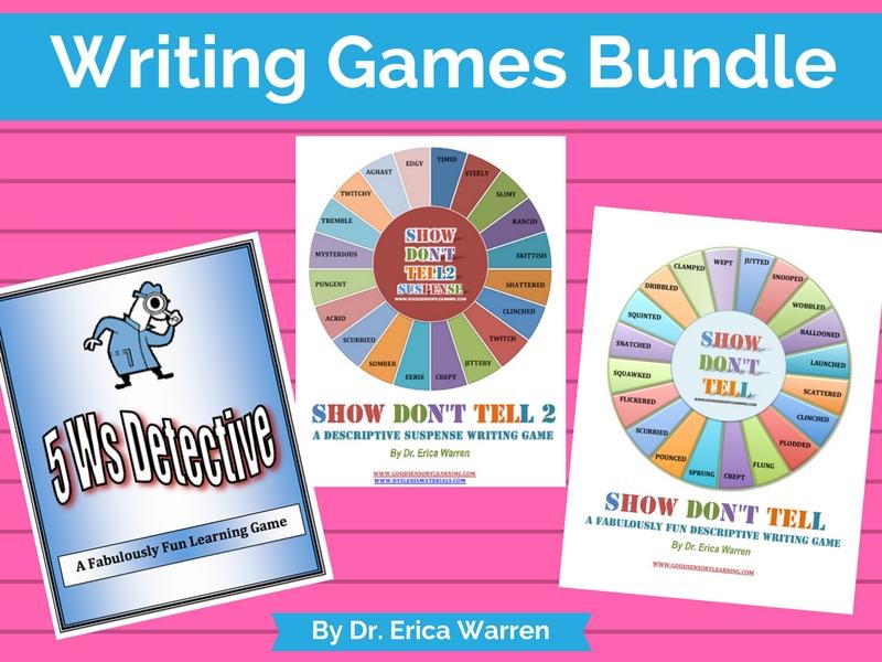Writing Games Bundle