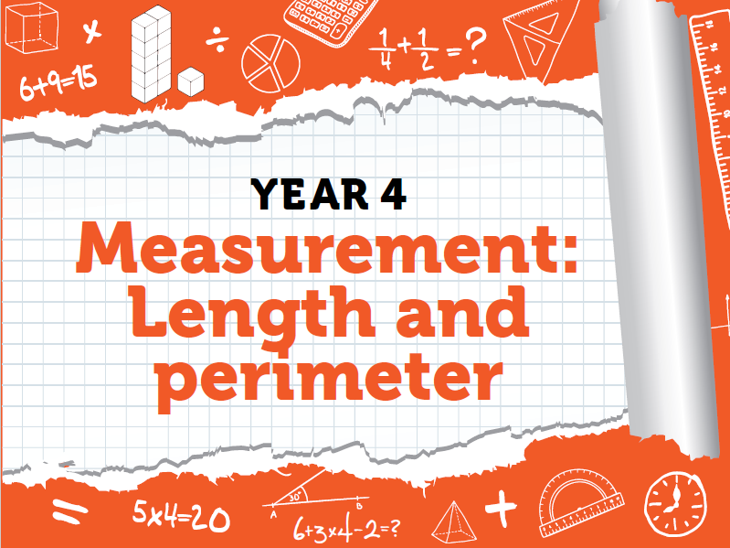 Year 4 - Measurement - Week 1 - Length and Perimeter