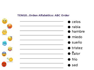 "Spanish Emoji lesson with ""tengo"""