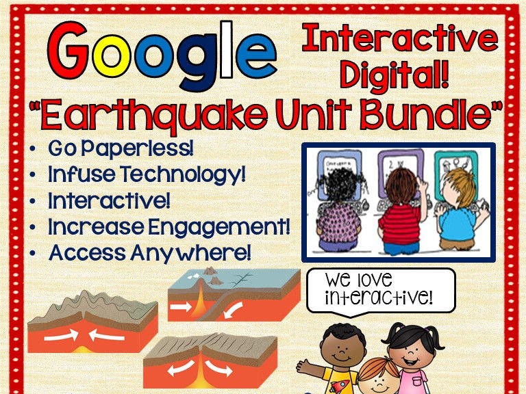 https://www.teacherspayteachers.com/Product/Google-Drive-Earthquake-Unit-Interactive-Notebook-For-Go