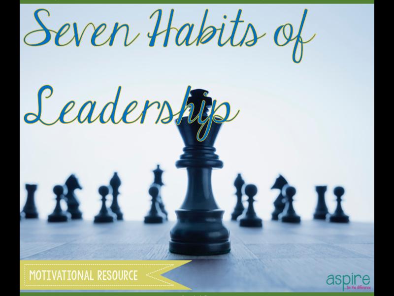 7 Habits of Leadership