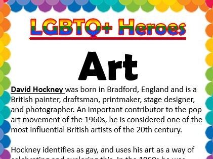 LGBTQ Heroes Collection- Art