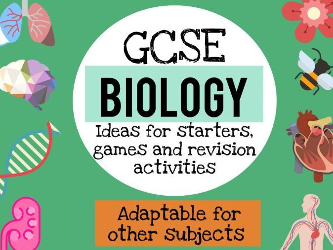 Ideas for Biology starters and revision games (also usable for other subjects)