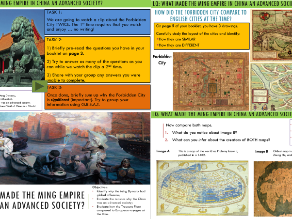 World in the Middle Ages: Ming Dynasty