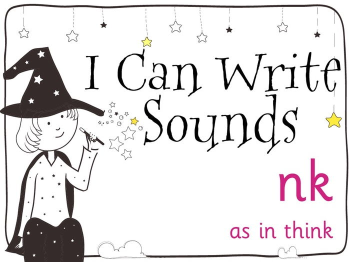 Magic Sounds Phonics Set 25 nk (as in think)