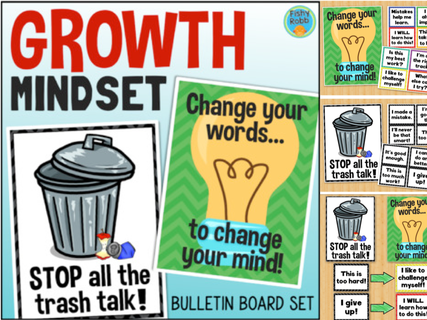 Growth Mindset Posters Posters