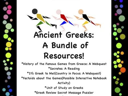 Ancient Greeks: A Bundle of Resources!