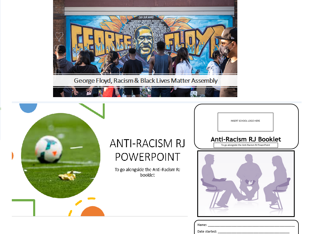 Anti Racism Bundle - Assembly + Activity pack & PowerPoint