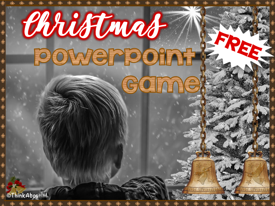 FREE Christmas PowerPoint Game
