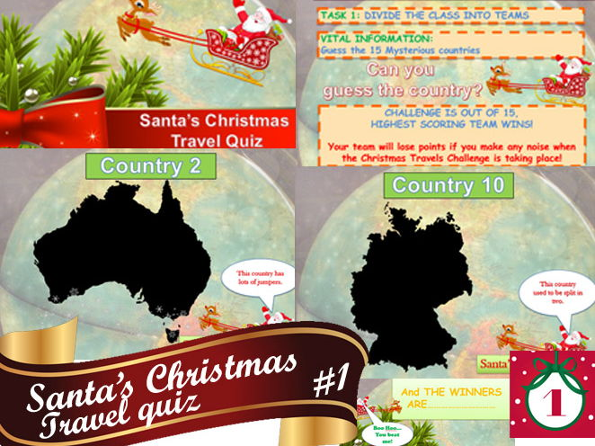 Christmas Travel Quiz #1  Awesome