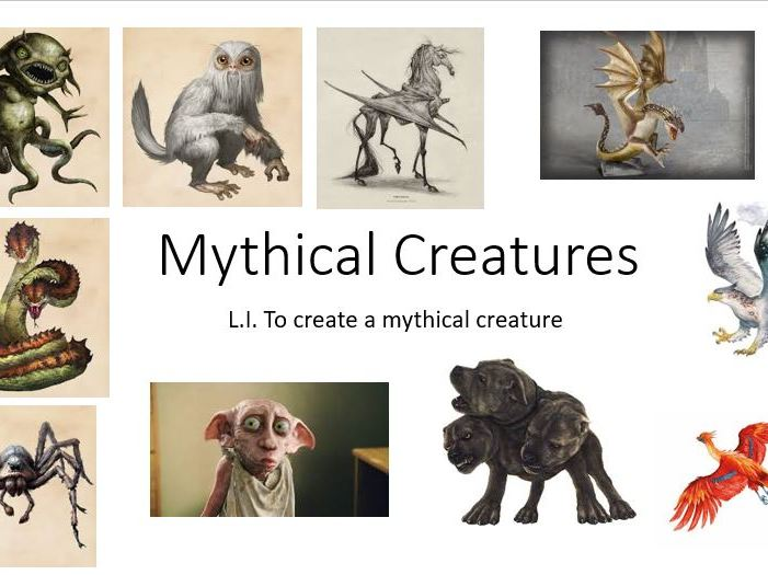 Mythical Creatures Creative Writing