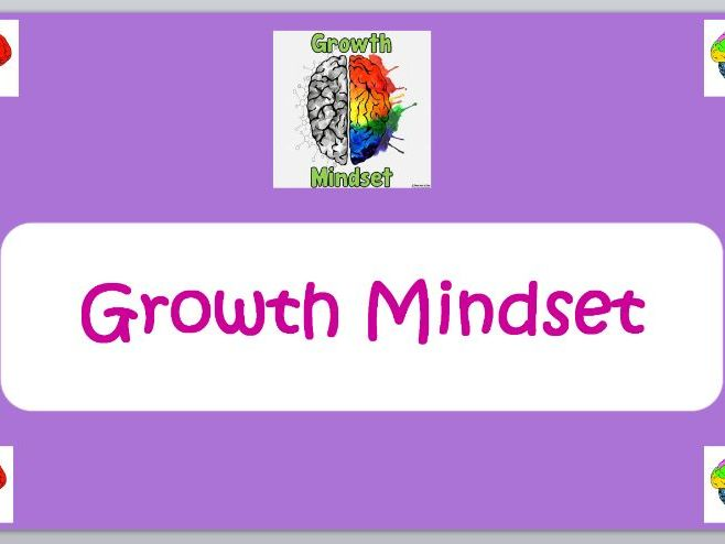 Growth Mindset Assembly/Lesson Starter