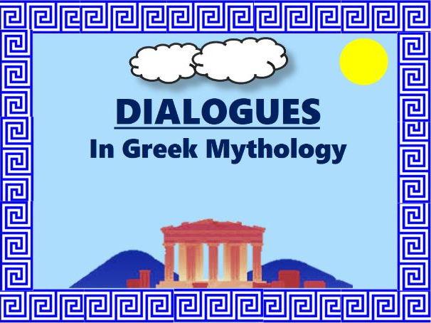 Adaptable powerpoint presentation on dialogue (Greek mythology theme)