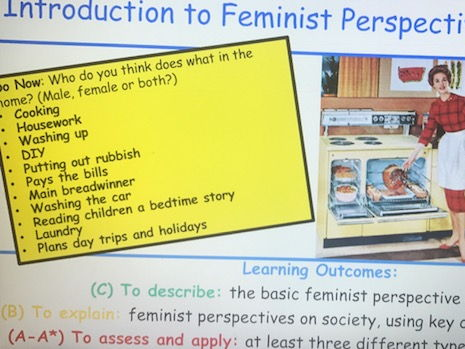 Feminist Perspectives on Society - Sociological Theory