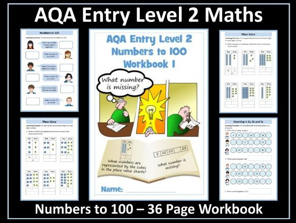 AQA Entry Level Maths: Numbers to 100
