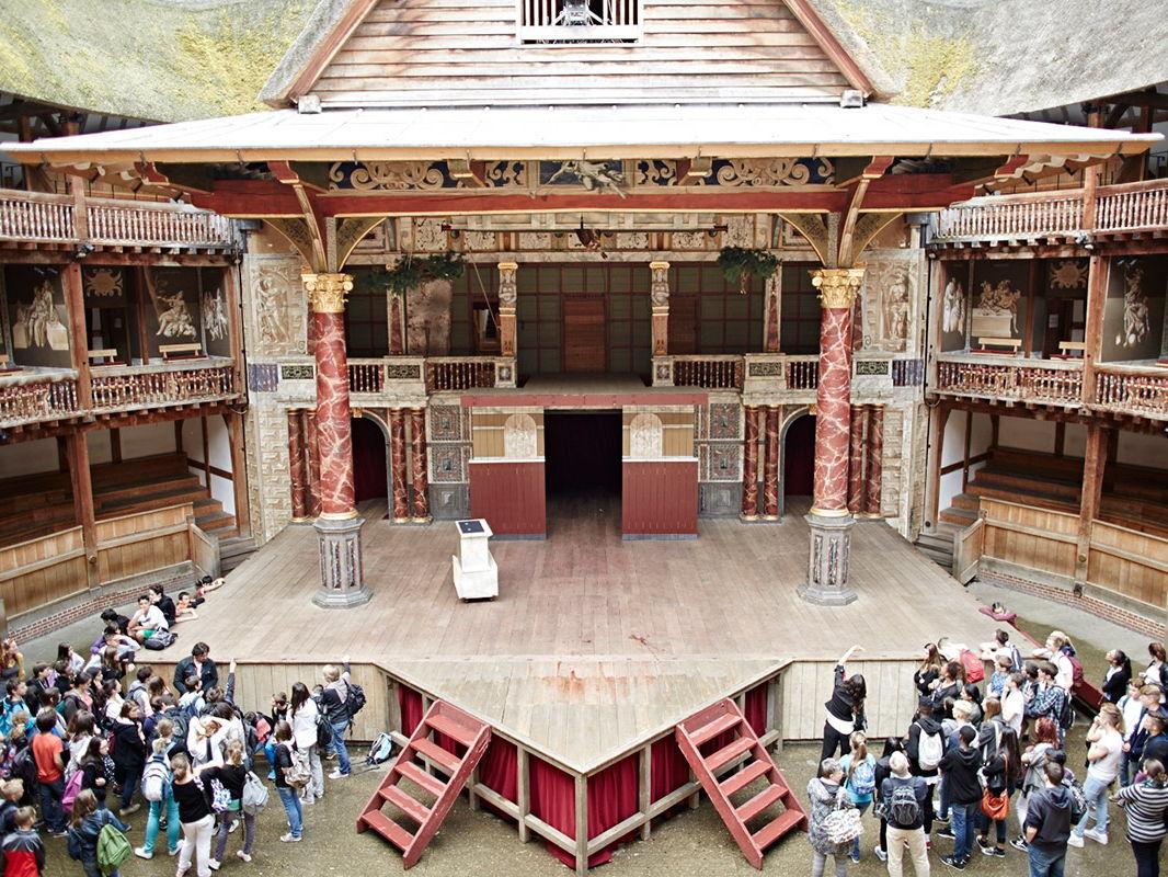 AQA 8145, The Globe Theatre, historic environment