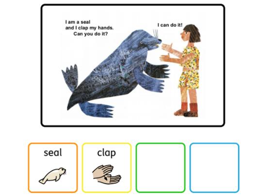Colourful Semantics Head to Toe story Stage 2 (widgit)