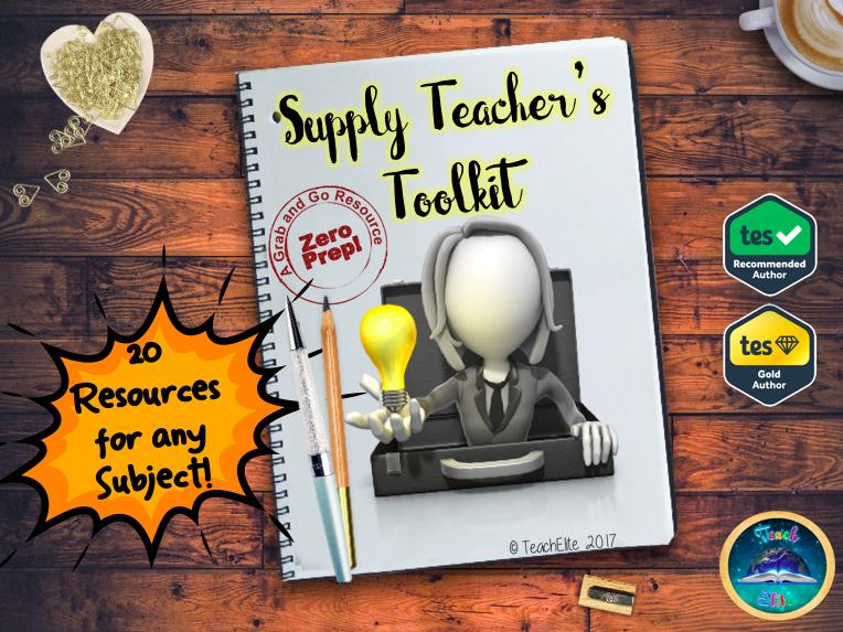 Supply Teacher's Toolkit